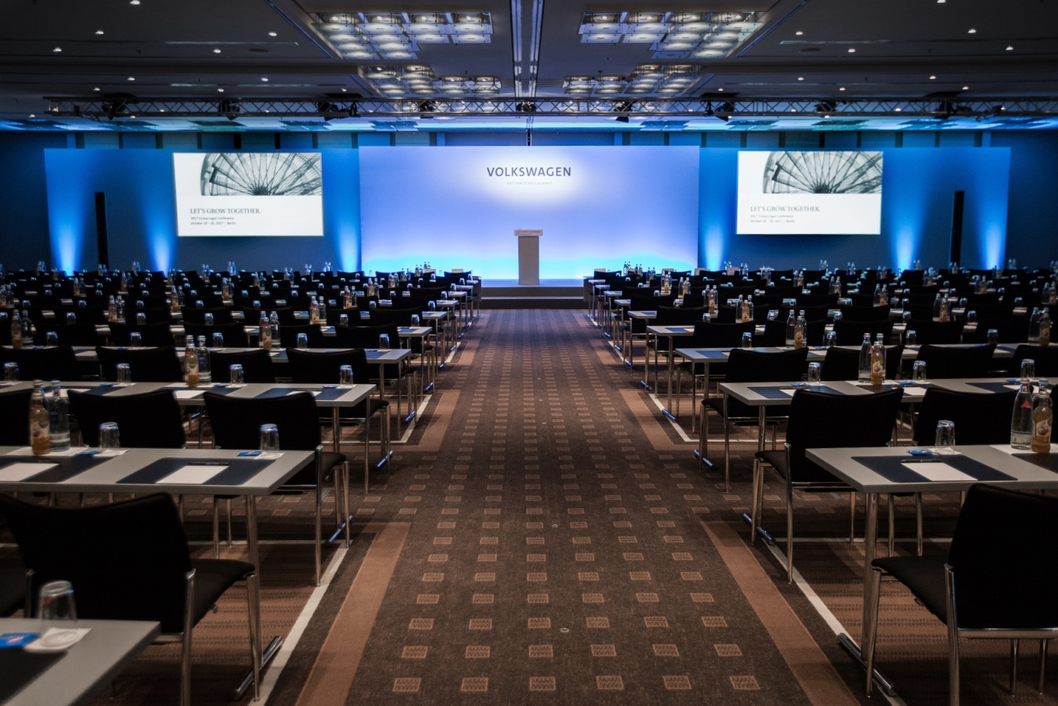 Volkswagen AG, Group Legal Conference Berlin 2017, Teilnehmer: 300